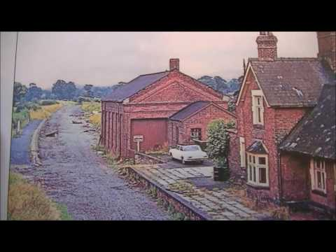 Oswestry to Welshpool Disused Railway lost stations
