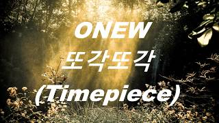 This song just make me listen to every night and i keep on thinking missing jonghyun while listening + the lyrics are as beautiful onew's vo...