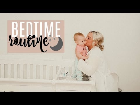 BEDTIME ROUTINE | 8 Month Old Baby
