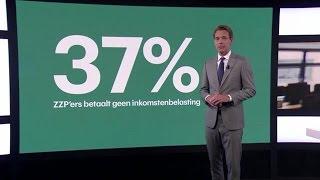 De belastinghemel van zzp'ers: terecht of niet? - RTL Z NIEUWS