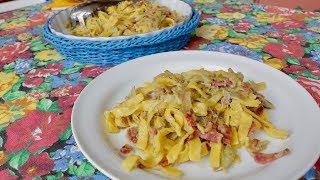How to Make Fettuccine Pasta with Artichokes | Pasta Grannies