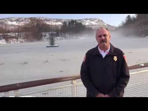 Easthampton fire chief warns of thin ice on town ponds
