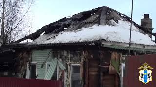 Бердские полицейские спасли бабушку и дедушку из горящего дома