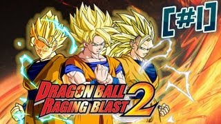 Let's Play Dragonball Raging Blast 2 Part 1 Better then I Expected!