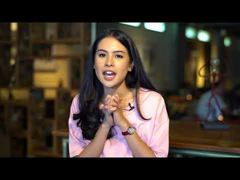 A quick glimpse with Maudy Ayunda