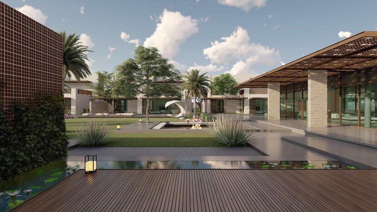 Private resort design @NAGA Architects   Modern Vernacular Architecture