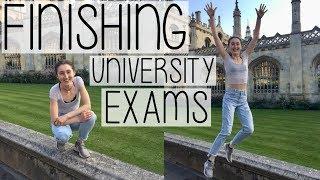 FINISHING EXAMS! UNIVERSITY BIOLOGY STUDENT VLOG | EXAM SEASON DIARY #006