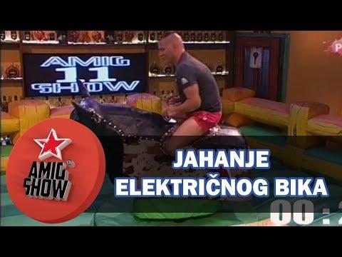 Zadrugari jašu električnog bika (rodeo) (Ami G Show S11)