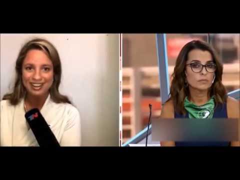 Abogada humilla a periodistas de pañuelo verde de TN