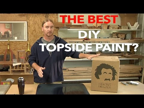 Quantum 99 The Best Topside Paint For The #DIY ??  Part 1/2