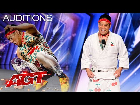 Mr. Cherry Attempts to Break a Record For Crushing Walnuts! - America's Got Talent 2021