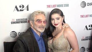 Video Ariel Winter and Burt Reynolds at The Last Movie Star Los Angeles film Premiere download MP3, 3GP, MP4, WEBM, AVI, FLV November 2018