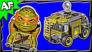 TURTLE VAN TAKEDOWN 79115 Lego TMNT Teenage Mutant Ninja Turtles Stop Motion Review