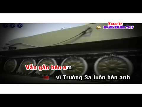 Gan lam Truong Sa ơi! Karaoke [SONG CA]