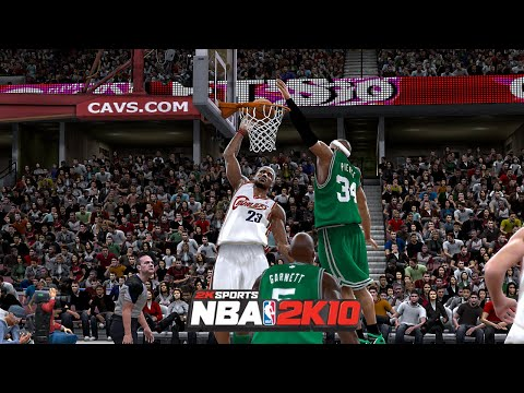 CELTICS vs CAVS | NBA 2K10