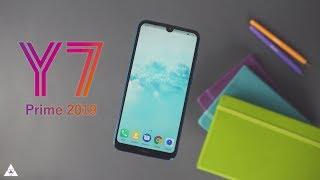 Huawei Y7 Prime 2019 | شاشة كاملة و افضل كاميرا امامية