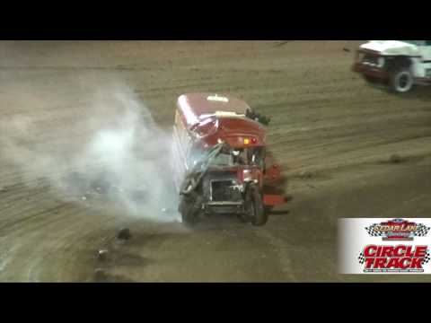 Cedar Lake Speedway Bus Race