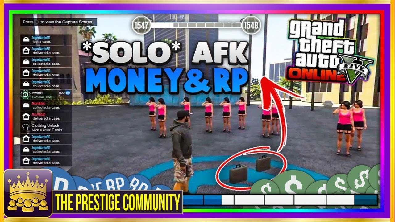 GTA 5 Online *EASY* AFK MONEY AND RP MODDED JOBS! *PS4/Xbox One/PC* NEW  UNLIMITED Money FAST RP 1 42