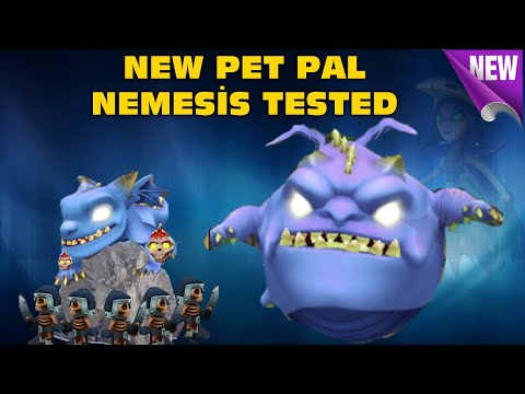Royal Revolt 2 L New Pet Nemesis Gameplay And Tested