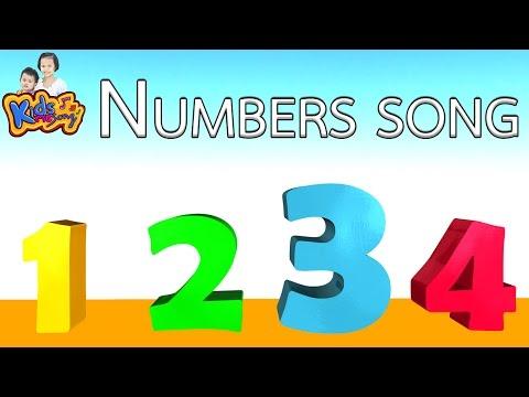 เพลง นับเลข 1-10 ภาษาอังกฤษ | The Numbers Song - Learn To Count from 1 to 10