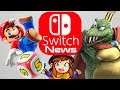Nintendo Switch News - Super Mario Party Demo, New Smash Ultimate Gameplay and A Hat in Time!
