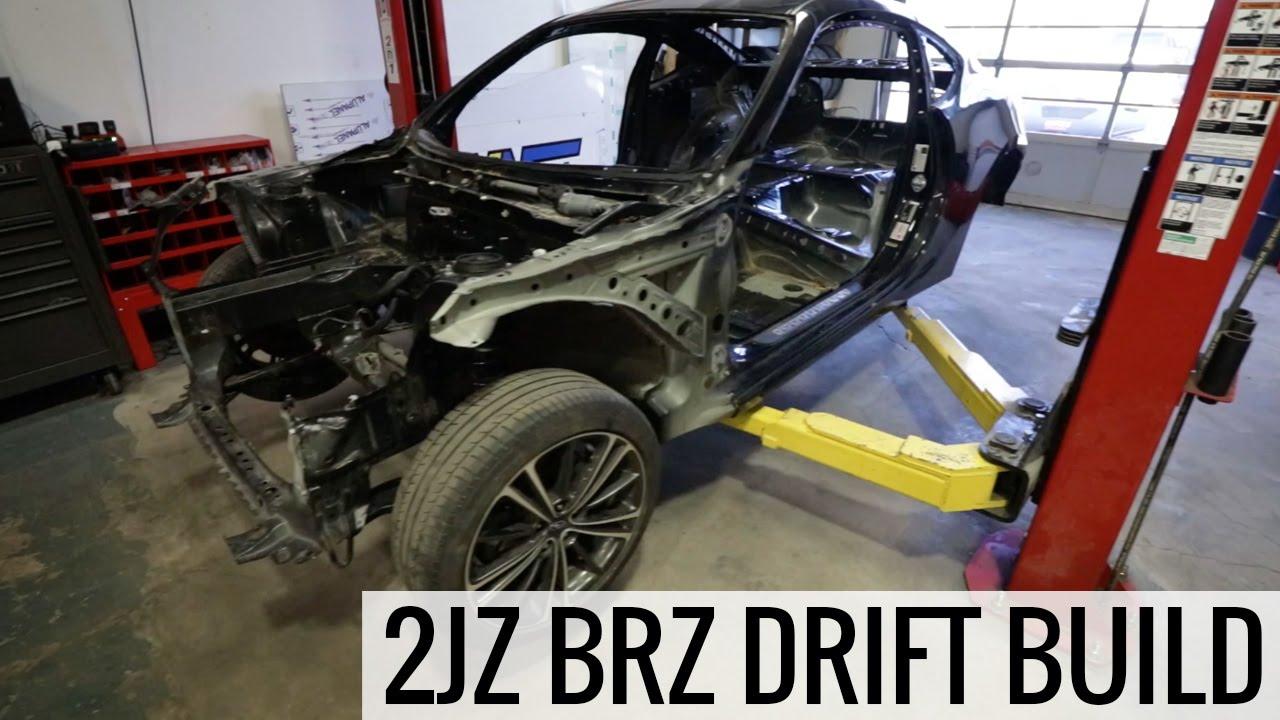 Building A Pro Drift Car Brz Drift Build Youtube
