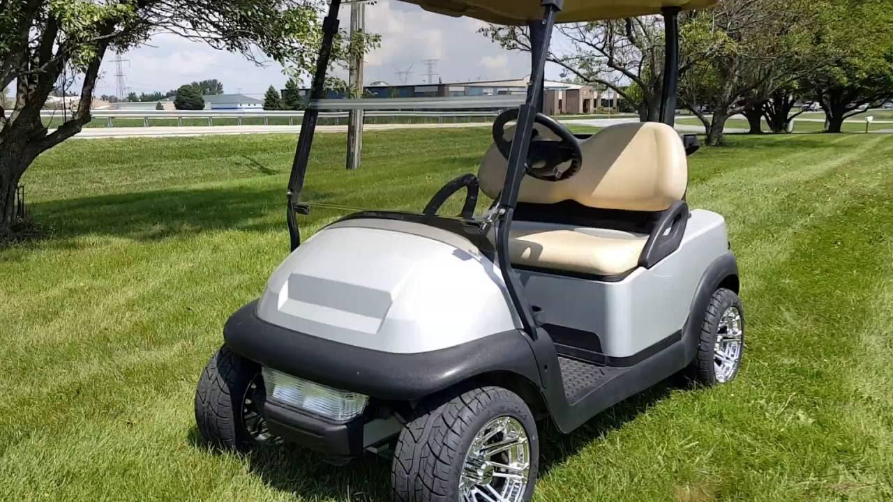 Silver Bullet Golf Cart Club Car Precedent Electric With Custom