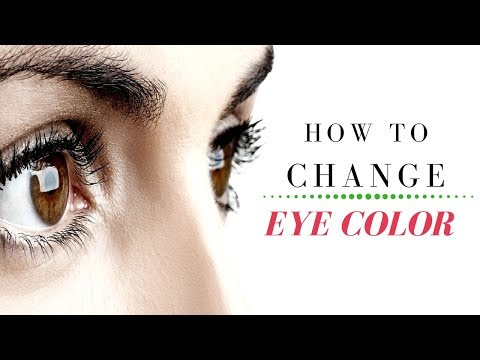 How To Change Your Eye Color Naturally In  Minutes