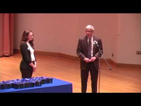 Western Washington University's Outstanding Graduate Awards Ceremony 2014