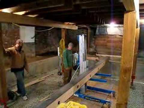 Lifting Steel Beam Youtube
