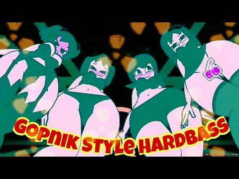 GOPNIK Hard Bass RMX VS PACMAN Minus8 - Alphaex -  Squat [FMV] Cyka Blyat Гопник сука блять