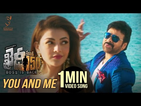 Thumbnail: You And Me 1 Minute Video Song | #KhaidiNo150 | Chiranjeevi | Rockstar DSP