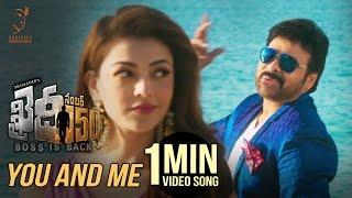 You And Me 1 Minute Song | #KhaidiNo150 | Chiranjeevi | Rockstar DSP