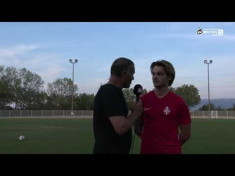 Actu Sport - Interview de Emilien CETTIER - Milieu de terrain offensif de l'Olympique de Valence