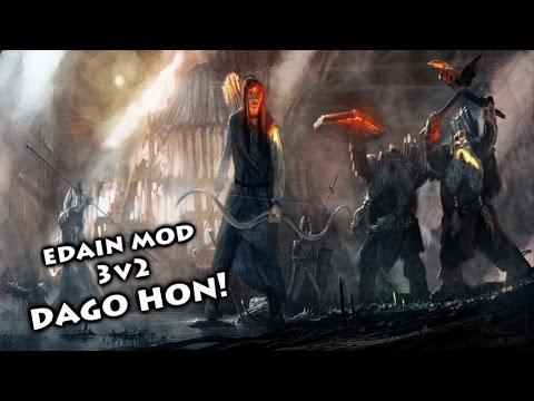 BFME2: Edain Mod Online 3v2 - Togo hon dad, Legolas! Dago hon!