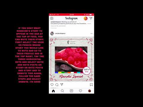 HOW TO MUTE OR UNMUTE SOMEONES STORY ON INSTAGRAM IOS ?