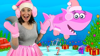 Christmas Baby Shark | Kids Songs & Nursery Rhymes | Christmas Sharks Song for Kids