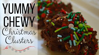 Christmas Clusters I How to Make Christmas Candy I Chocolate Candies
