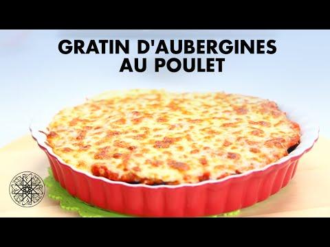 choumicha-:-gratin-d'aubergines-au-poulet-|-شميشة-:-كراتان-الباذنجان-بالدجاج