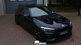 BMW M140 ALL BLACK !! Lower wider faster , Motech Performance