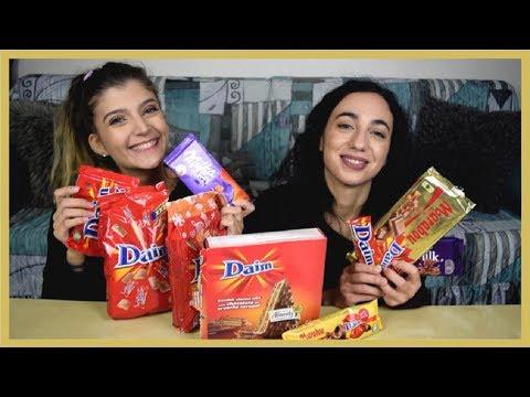 Δοκιμάσαμε όλες τις σοκολάτες Daim   katerinaop22