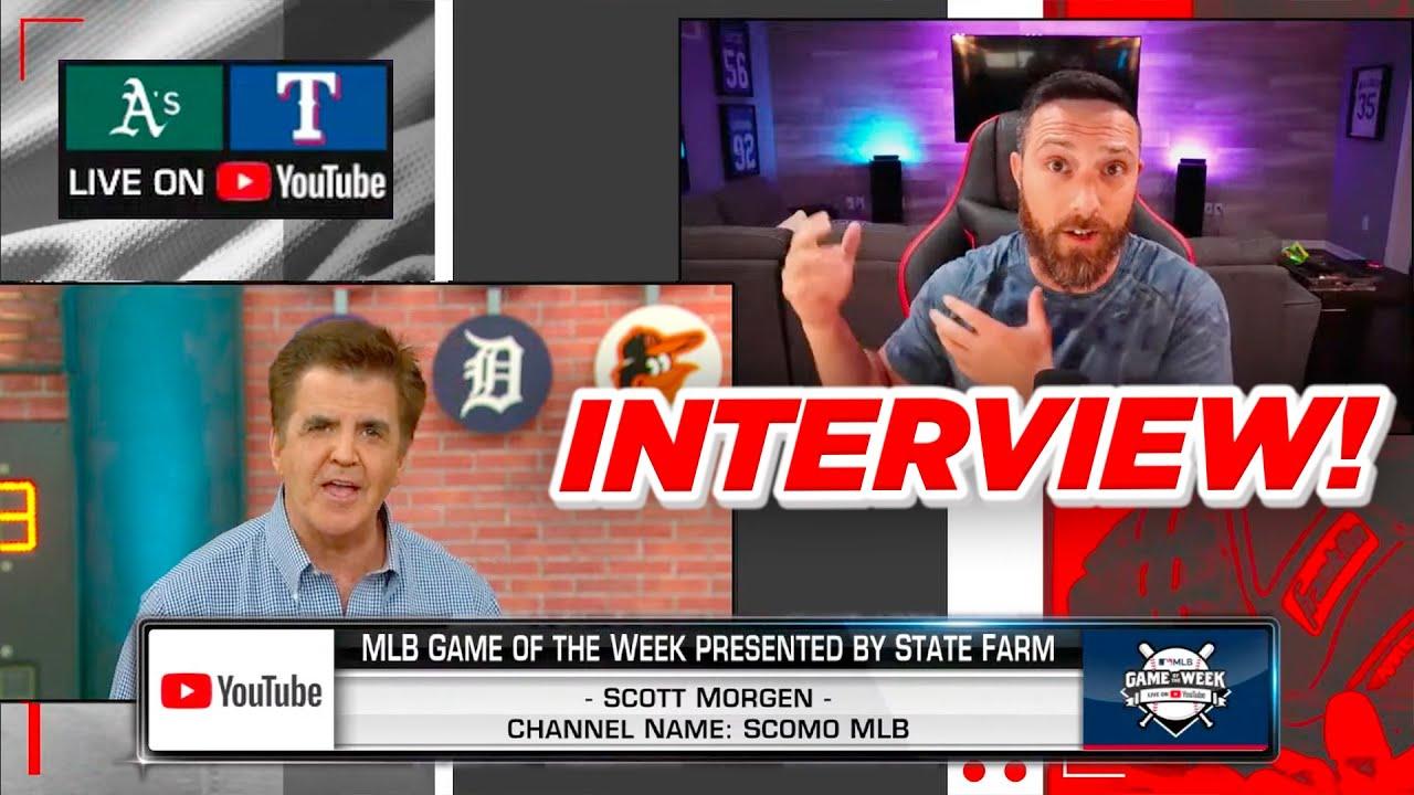 MLB INTERVIEWED ME LIVE ON TV!