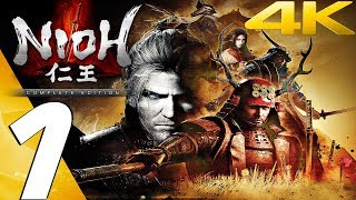 NIOH (PC) - Gameplay Walkthrough Part 1 - Prologue [4K 60FPS] Complete Edition