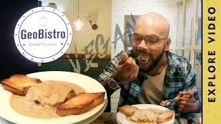 This place Serves VEGAN LASAGNA | Food Review : GEO BISTRO, Pune
