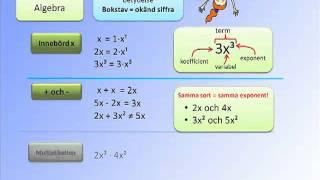 Vad är Algebra