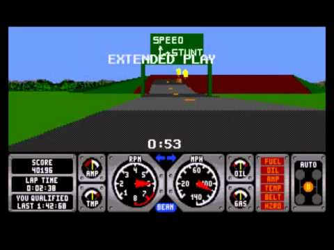 Hard Drivin' For The Sega  is listed (or ranked) 4 on the list Arcade Ports That Just Didn't Work Out