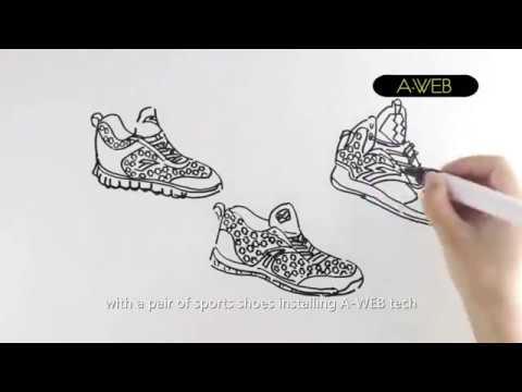 ANTA zapatillas  tejido material High Performance A-WEB