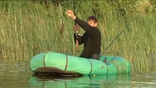 Рыбалка, надувная лодка, караси - это простые радости