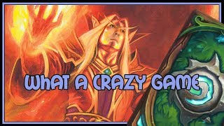 What a CRAZY game | Big spell mage | The Witchwood | Hearthstone