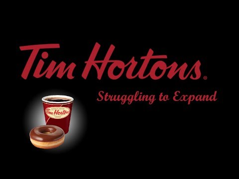 Tim Hortons - Struggling to Expand